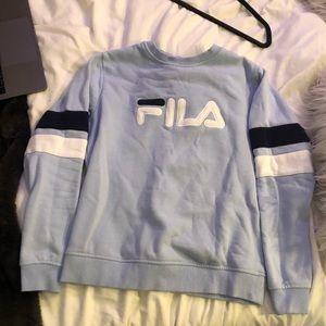 Light blue Fila Crewneck sweatshirt